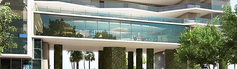 Icon Bay Miami Building Front View